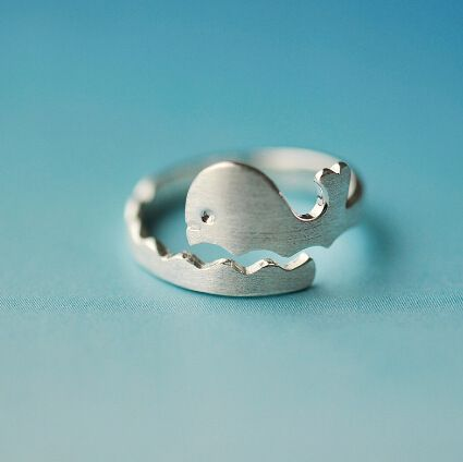 925 Sterling Silver Rings For Women Simple Cute Whale Shape Adjustable Open Ring Hypoallergenic Sterling Silver Jewelry  Only $3.7 => Save up to 60% and Free Shipping => Order Now!  #Earrings #Rings #Handmade #Silver Jewelry #Pandora Bracelets #Nature Stone Jewelry #Jewelry #Necklaces #Bracelets