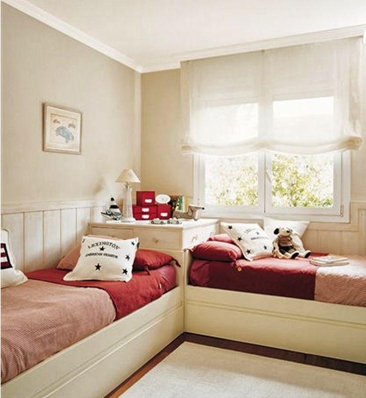 M s de 25 ideas incre bles sobre camas dobles para ni os for Habitaciones dos camas decoracion
