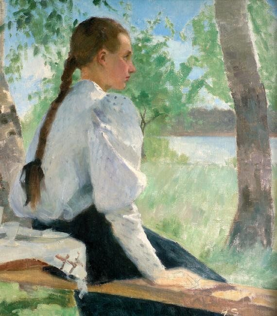 Helene Schjerfbeck (1862- 1946) is one of Finlands most famous artist. She lived in Ekenäs for about 20 years. Dramatized guided tours through the town are available as well as an permanent exhibition in EKTA museum center in Ekenäs. Please click on image for further information.
