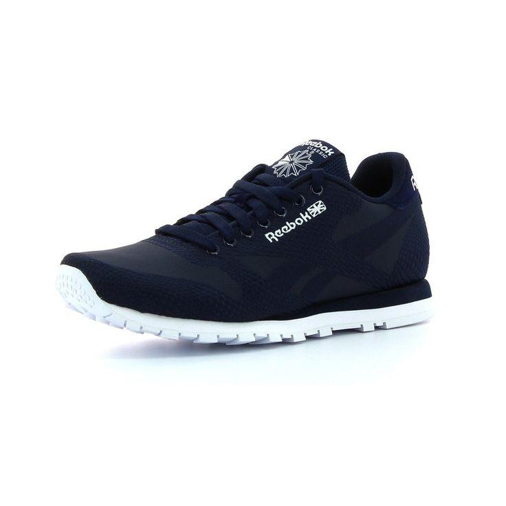 official photos 488a7 b636a Reebok Classic Runner Jacquard Herren Sneaker Blau Amazon.de Schuhe  Handtaschen . ...