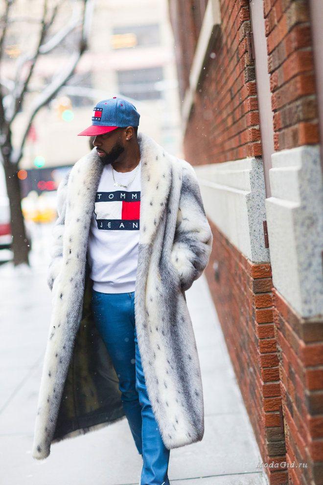 Уличная мода: Уличный стиль недели мужской моды в Нью-Йорке сезона осень-зима 2017-2018