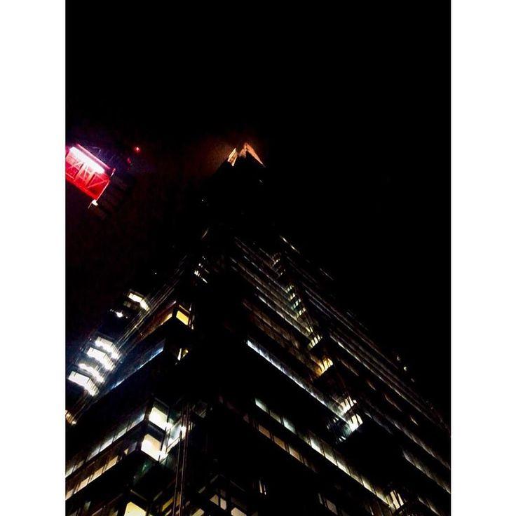 The Shard The Crane & The Night Time.   #london #theshard #discoverlondon #night #skyline #love #cityscape #vscocsam #lightroom #iphone7 #instalondon #now #love #igerslondon