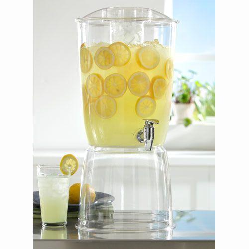 Three Gallon Acrylic Beverage Dispenser Image
