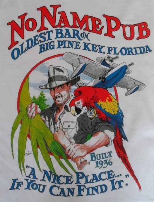 No Name Pub, Big Pine Key, FL