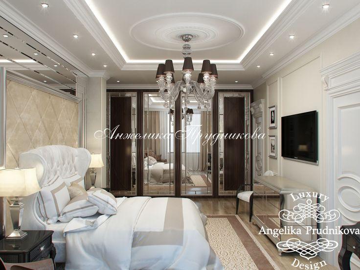 Дизайн спальни - «Дизайн интерьера спальни на ул.Чайковского в Классическом стиле» - фото 2016