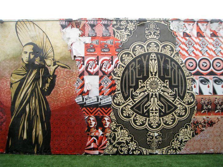 Cool outdoor wall murals wallpaper mural ideas http for Digital wall mural