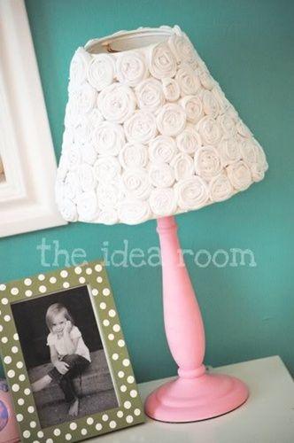 Decorar una lámpara de sobremesa