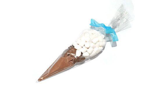 Sweet Cone Chocolate Milkshake Personalised by HelensDessertCart