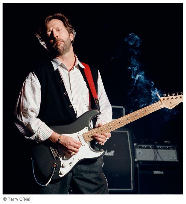 Eric Clapton, London, 1990