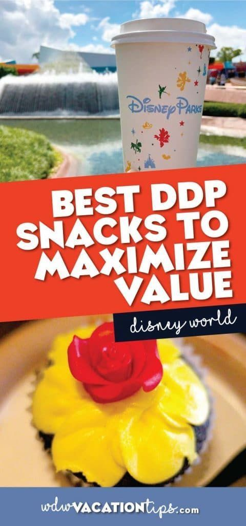 If you are looking to truly maximize your Disney Dining Plan snack credits, you should aim to find snacks that are over $5. If you didn't already know the value of one snack credit is around five dollars. So here are my recommendations for snacks that will maximize the value of the Disney Dining Plan.