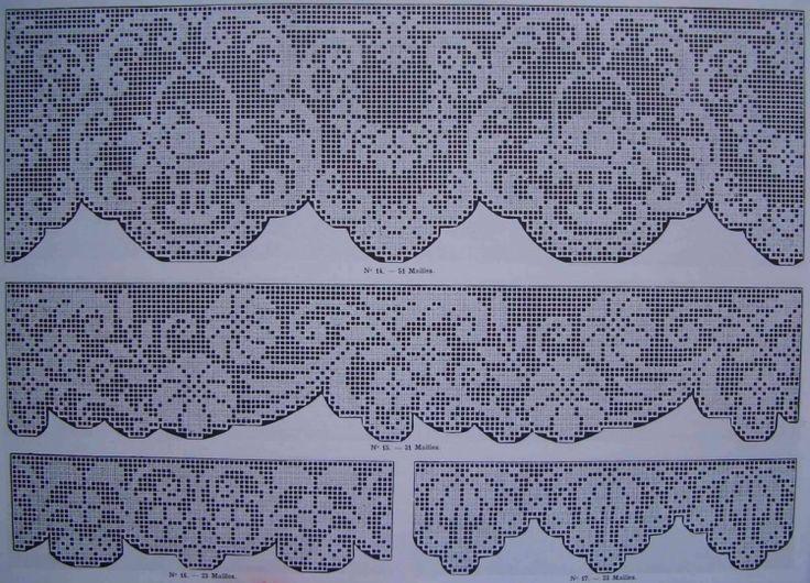 Gallery.ru / Фото #85 - δυο 2014 - ergoxeiro Filet crochet edgings / borders / valance / window treatment