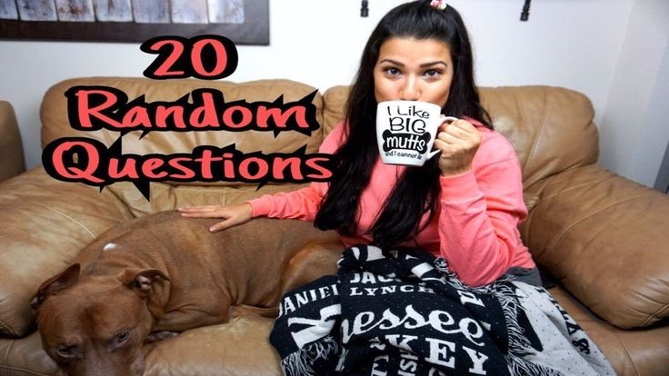 20 Random Questions Tag 2017 - YouTube