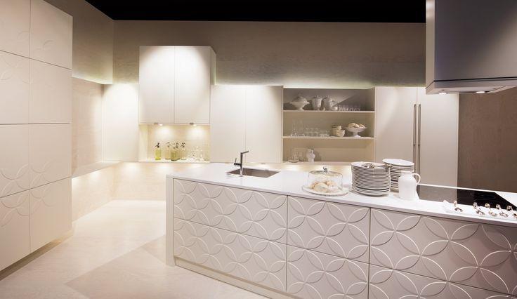 Einbauküche Almandin Weiss