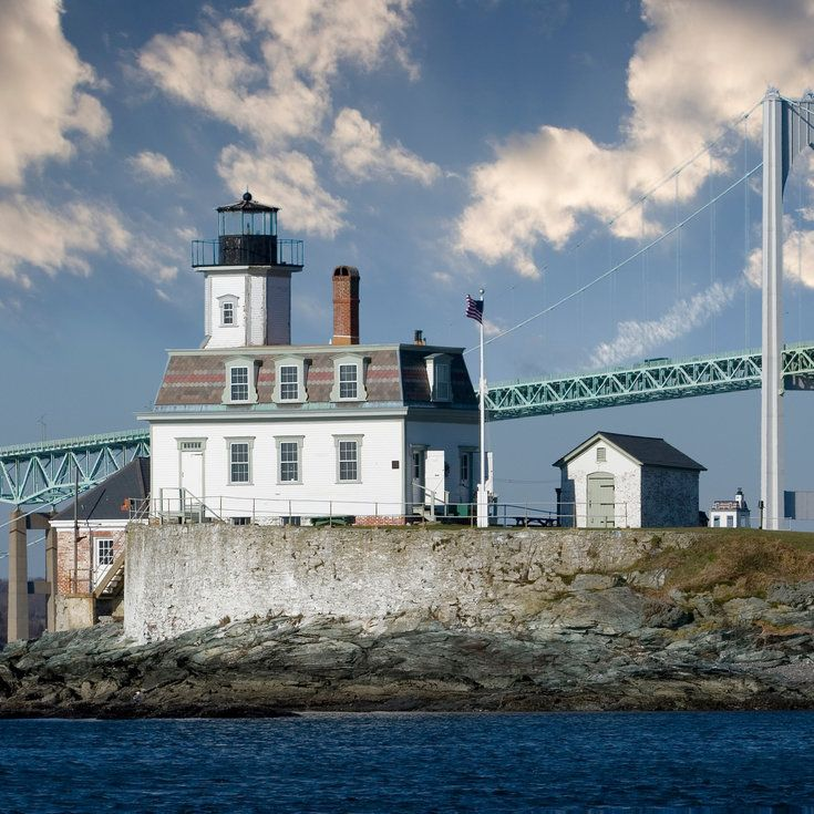 Rose Island Lighthouse - 7 Charming Lighthouse Inns - Coastal Living