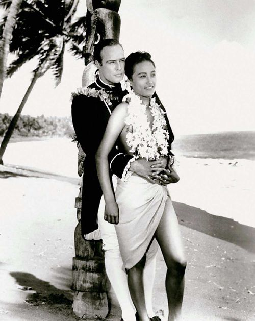 Marlon Brando & Tarita Teriipia, 1962