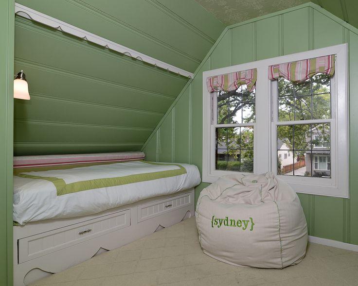 Approachable Chic Tudor Girls Bedroom KKDL Portfolio