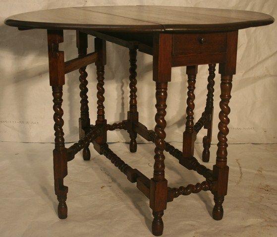 antique gateleg tables mike traffords 19th century oak barley twist gate leg table