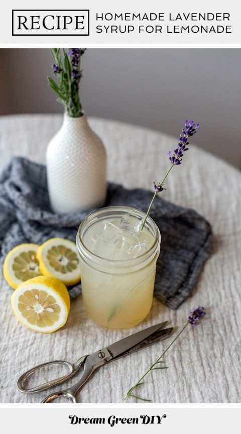 How To Make Homemade Lavender Syrup For Lemonade