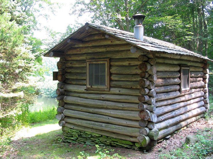 Wooden Cabin Description Trail Wood Writing