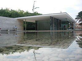 Ludwig Mies van der Rohe, Barcelona-paviljoen, 1929