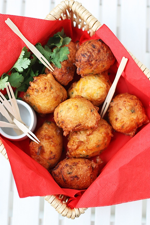 Pumpkin fritters - fun & festive holiday app