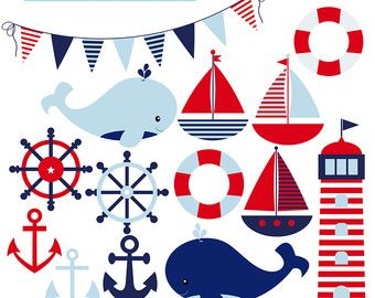 ClipArt di ancoraggio: Sea Anchor clipart nautico di DigiWorkshop