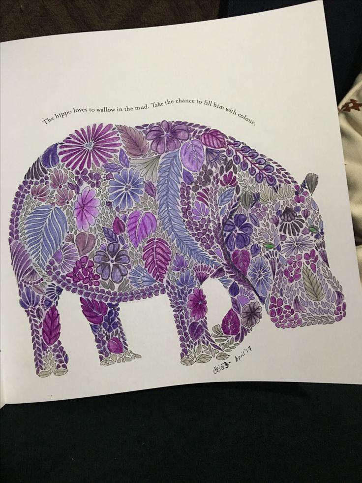 Millie Marottas Animal kingdom using Prismacolors and Derwent studios.