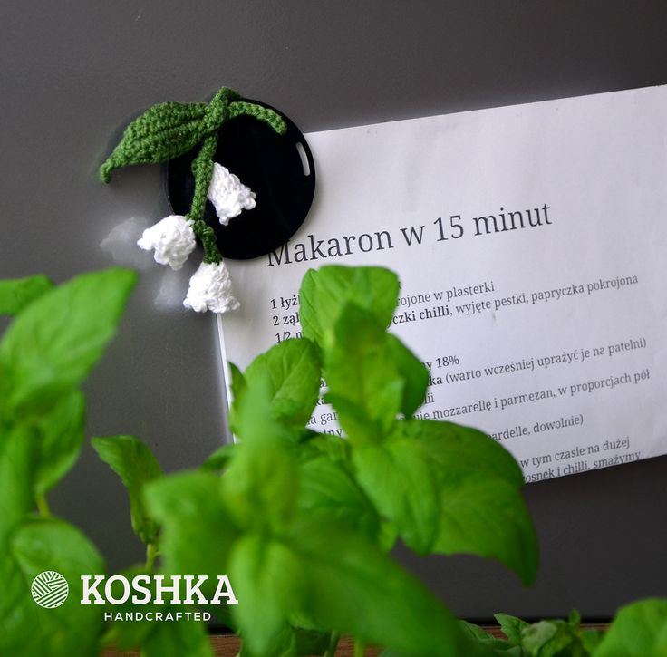 Crochet Flower by Koshka | Buy at hello@koshka.pl