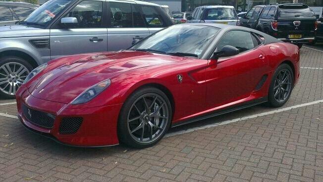 Ferrari 599 GTO...yum!
