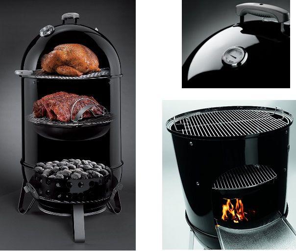 Weber Smokey Mountain Series Cooker Best Smoker Pig Roaster Best Smoker Grill