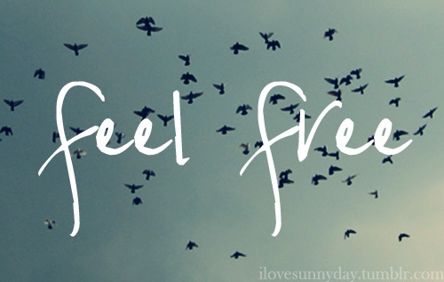 feel free to FLY……Writers Stuff, Feelings Free