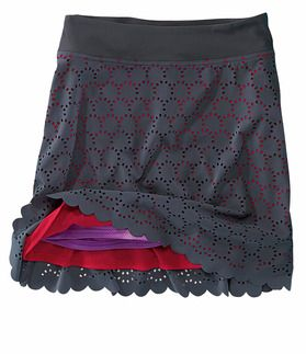 Illusion Swb - Products - Product Groups - Title Nine Loving this skort.