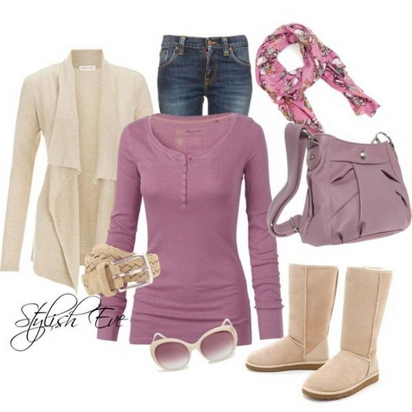 Jean Outfits for Women by Stylish Eve  Everything but the boots