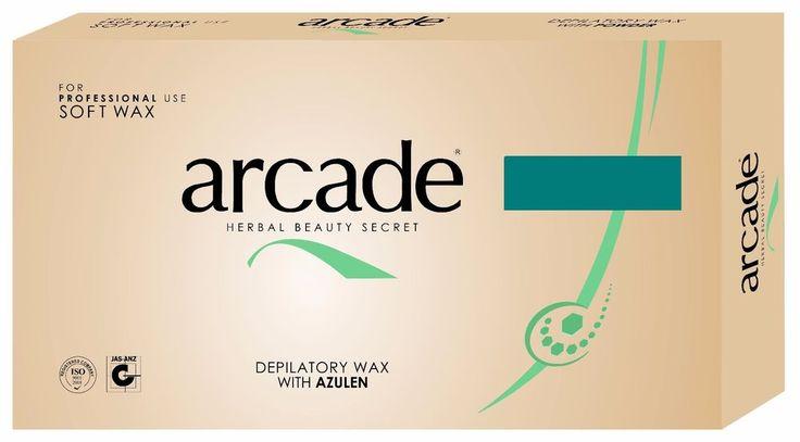 24x500g Arcade Heisswachs Azulen, Enthaarung, Sir Agda, Wax, Warmwachs