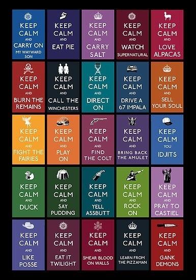 "Hee hee ""Keep Calm and Like Posse"".  LOVE IT!"