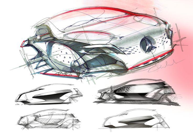 Mercedes Benz GLA Redesign Concept