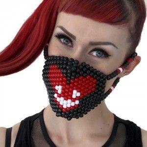 Deadmau5 Kandi Mask Surgical Deadmaus by Kandi Gear http://KandiGear.com