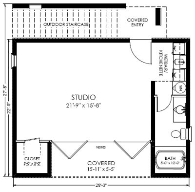 Studio Home Plans Prepossessing Best 25 Modern House Floor Plans Ideas On Pinterest  Modern