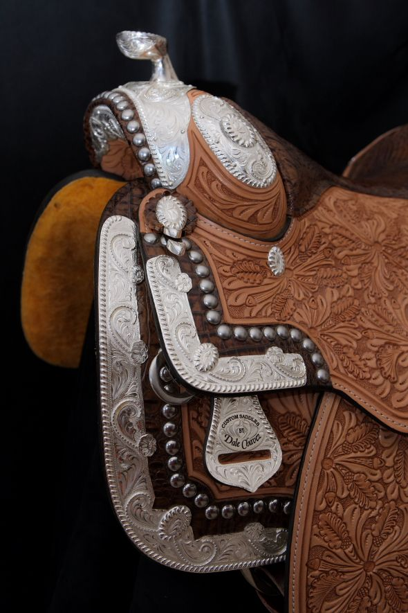 Great Prices on Dale Chavez Show Saddles at Western World Saddlery in Caboolture, Brisbane.