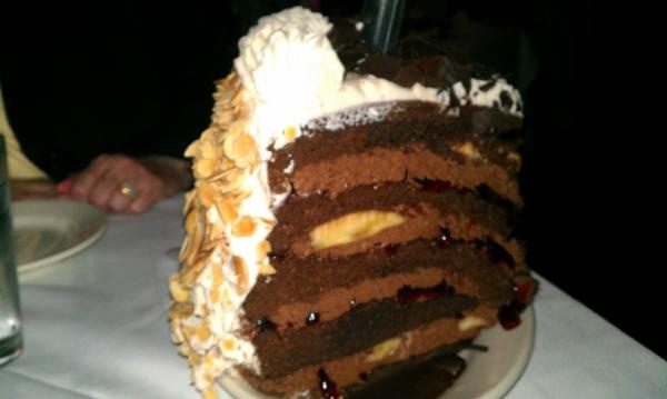 Gibsons Chocolate Mousse Cake