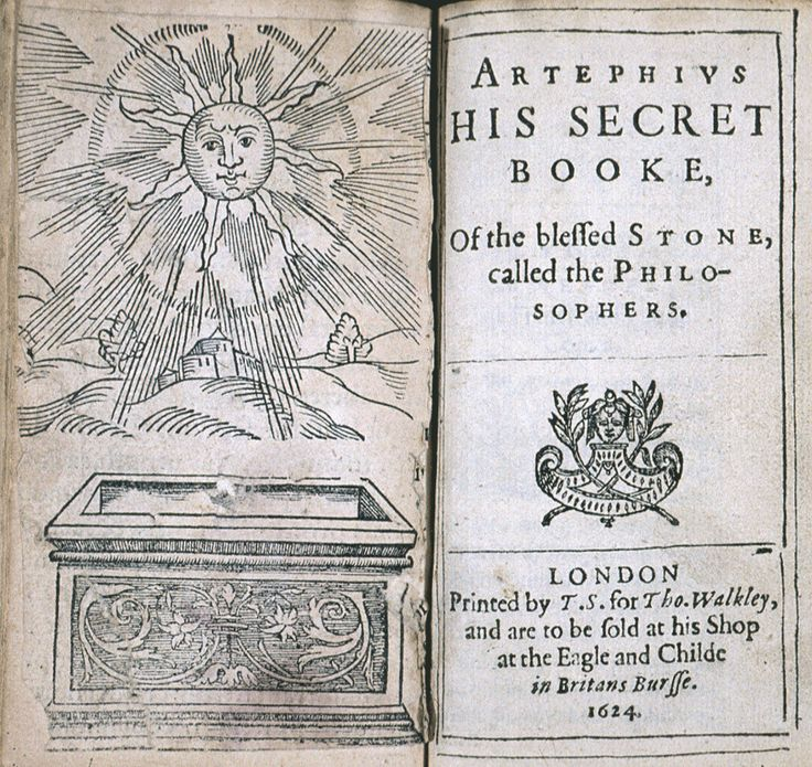 Nicolas Flamel, the French Alchemist (1330 - 1417). His Exposition of the Hieroglyphical Figures - His Secret Booke of the Blessed Stone called the Philosopher's. London, 1624.