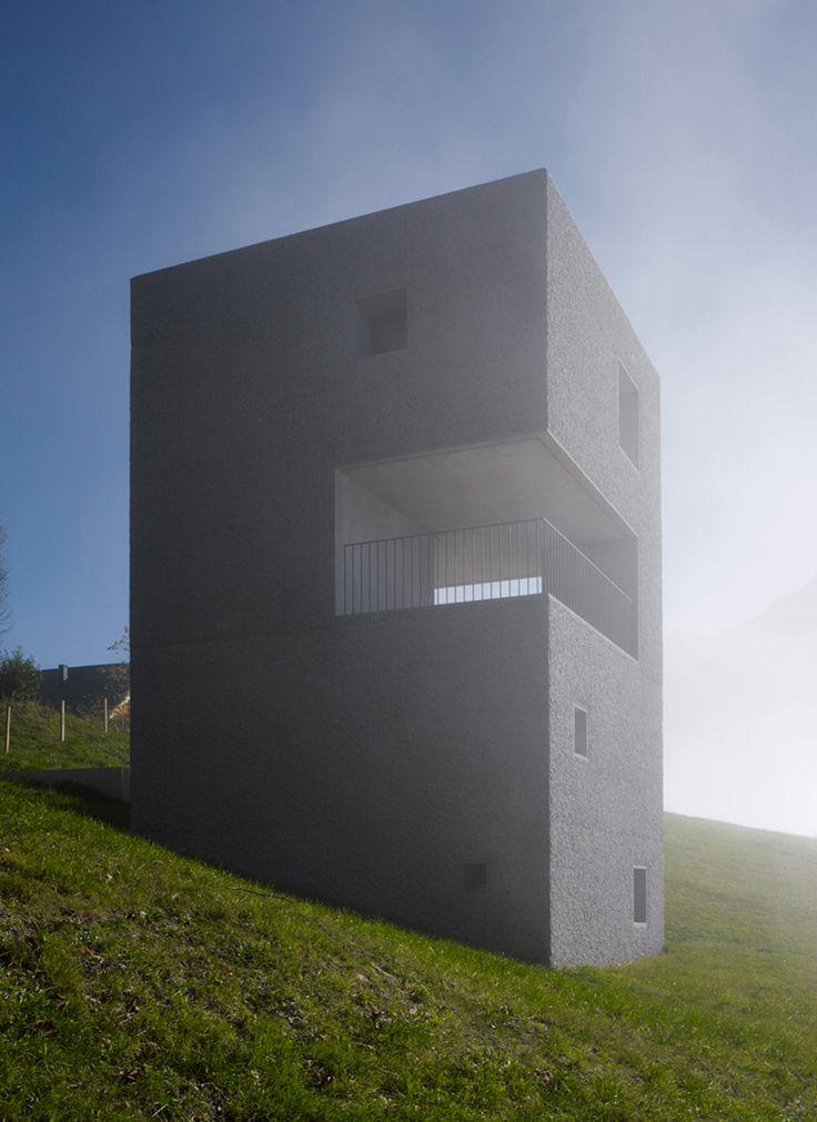 Marte Marte Architekten - Schutzhütte im Laternsertal