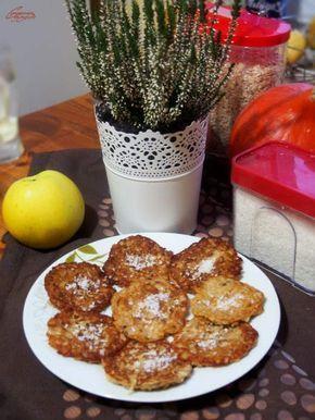 Jabłkowe placuszki owsiane – fit śniadanie