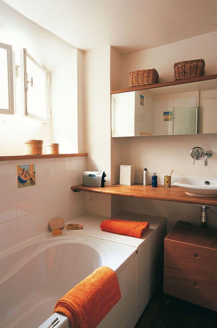 1000 idées sur le thème petite salle de bain Étroite sur pinterest ...