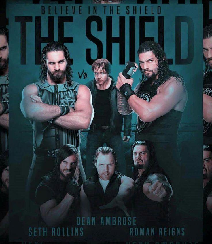 Roman Reigns Dean Ambrose & Seth Rollins