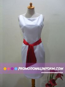 Sales Girl Uniform for a Taiwan excellent event http://promotionaluniform.com/archives/1161