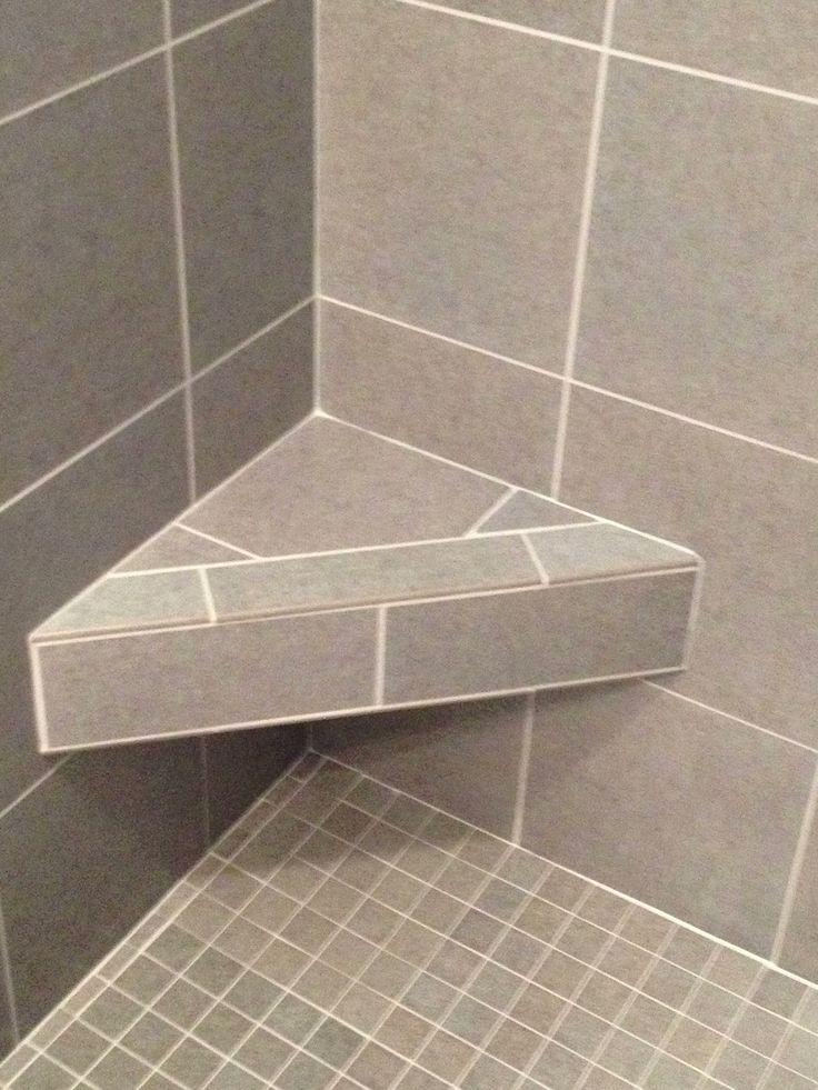 11 best tiled shower benches images on pinterest bathroom half bathrooms and showers. Black Bedroom Furniture Sets. Home Design Ideas