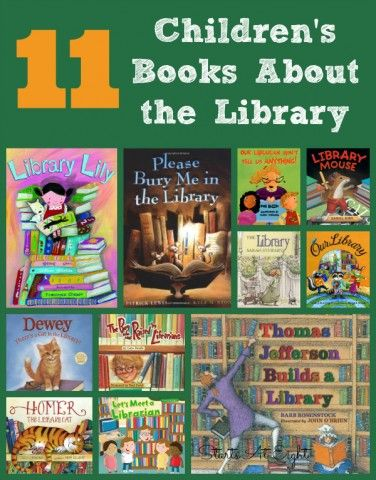 11 Children's Books About the Library from Starts At Eight
