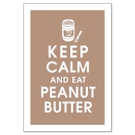 I live off peanut butter!!!