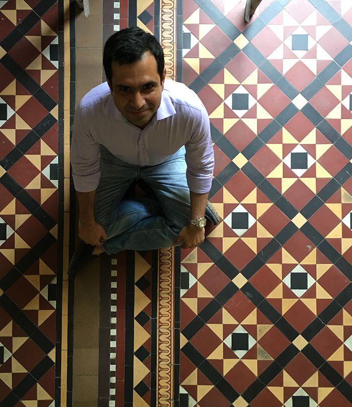 For me, iconic Mumbaiborn Bharat Tiles